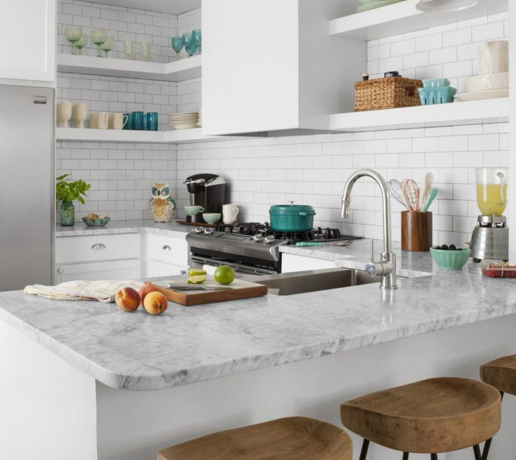Superbealing Small White Kitchens Of