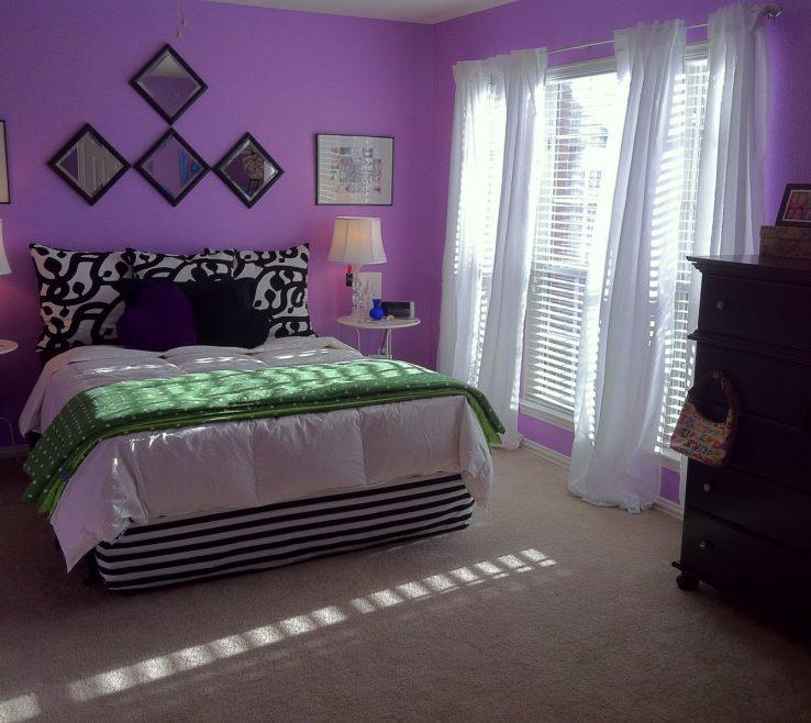 Superbealing Teen Bedroom Colors Of Purple Bedrooms