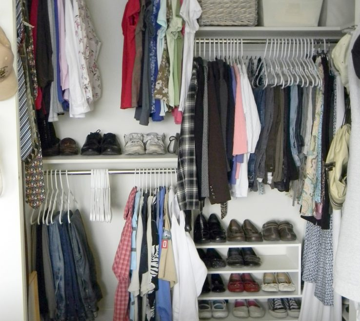 Terrific Closets Organization Ideas Of Hanging Closet
