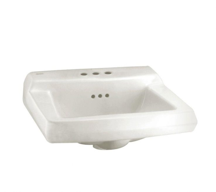 Terrific Corner Pedestal Sinks For Small Bathrooms Rade Wall Mounted Bathroom Sink In White