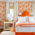 Terrific Curtains With Orange Walls Of Burnt Bedroom Ideas Light Bedroom Bedroom What