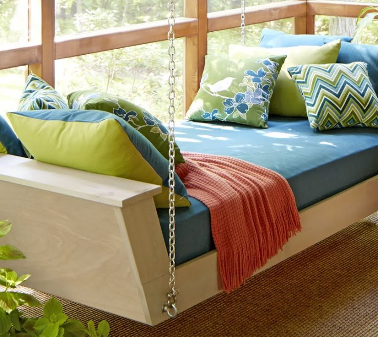 Terrific Diy Outdoor Daybed With Canopy Of Hanging Plans