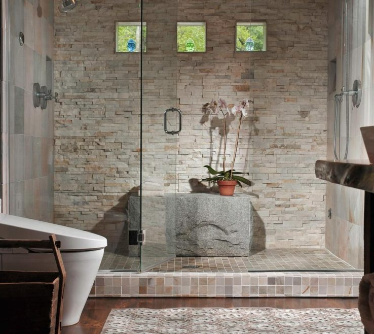 Terrific Luxary Showers Of Original Jackie Dishner Luxury Showers Susan Fredman Stone Enclosure S4x3