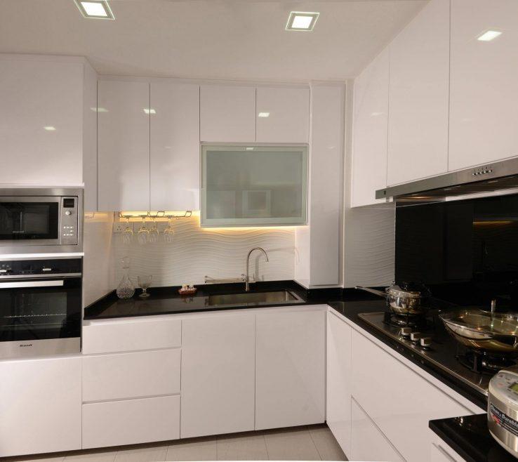 Terrific Small Space Lighting Of Modern Kitchen Design 2017 Kitchen Design