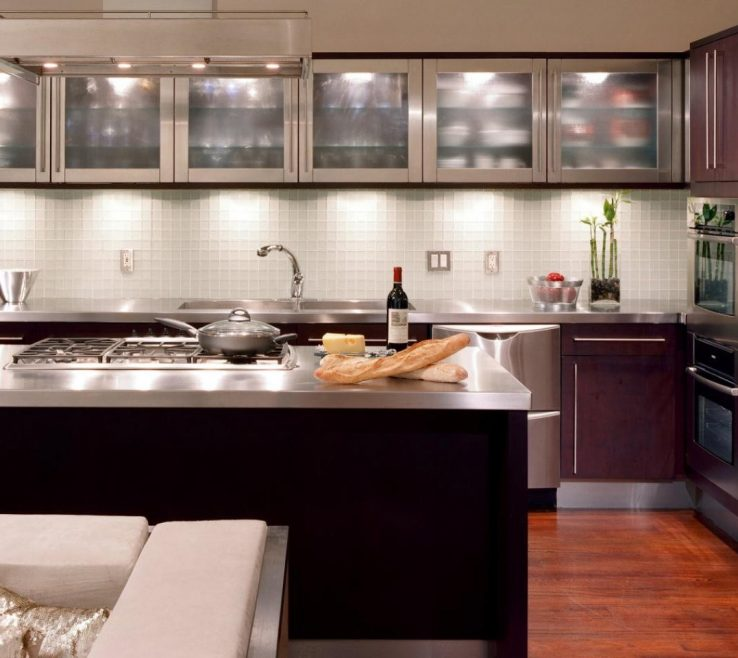 Terrific Stained Glass Kitchen Doors Of Metal And Display Cases Small Wall Full