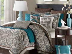 Turquoise Blue Bedroom Designs