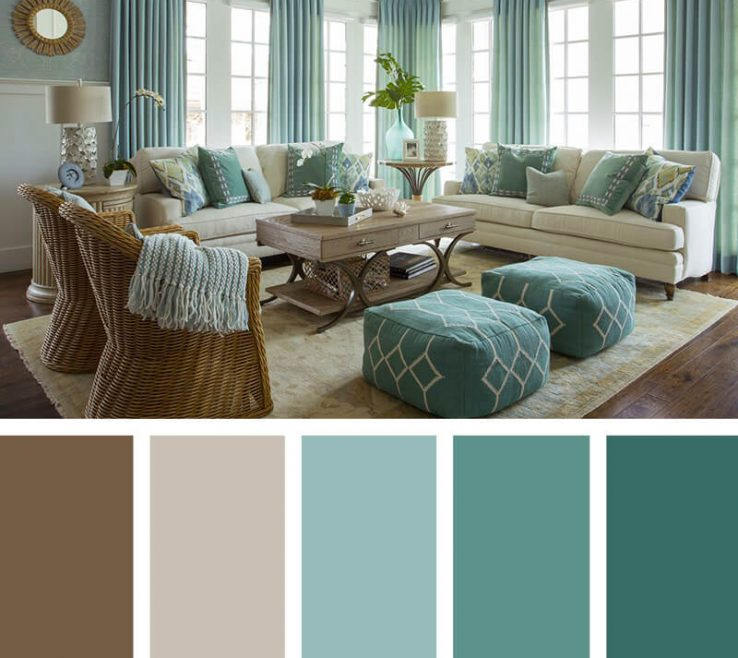 Turquoise Color For Bedroom Of 11. Coastal Elegance A Soothing Vacation