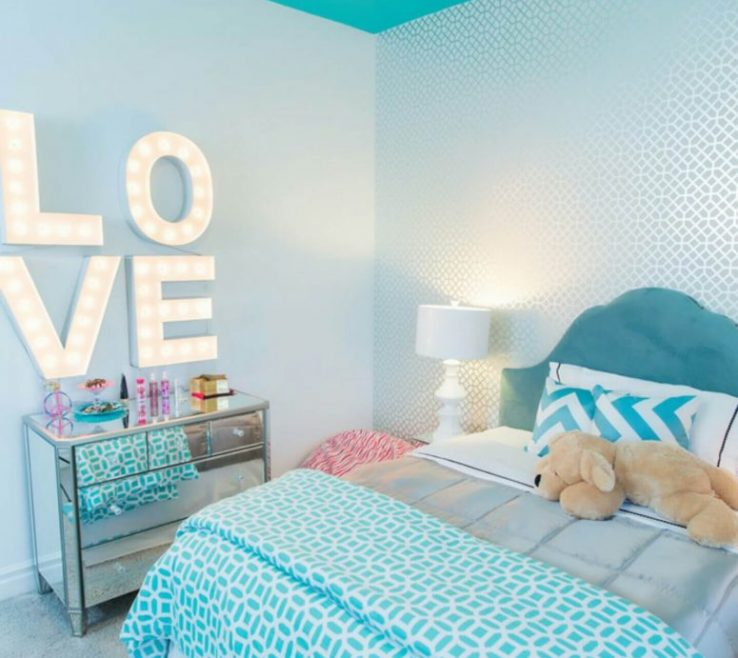 Turquoise Color For Bedroom Of Modern Ideas