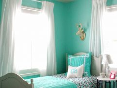 Turquoise Color For Bedroom