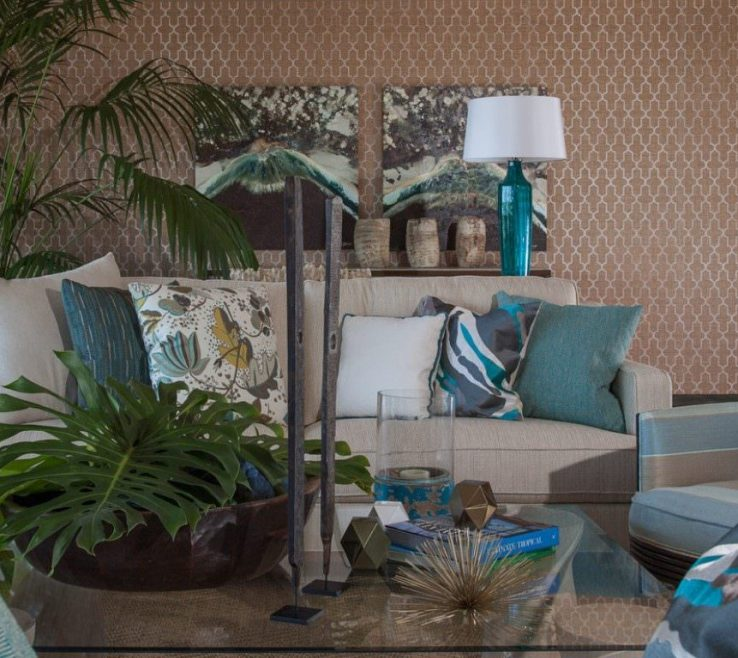Turquoise Living Room Ideas Of Brown