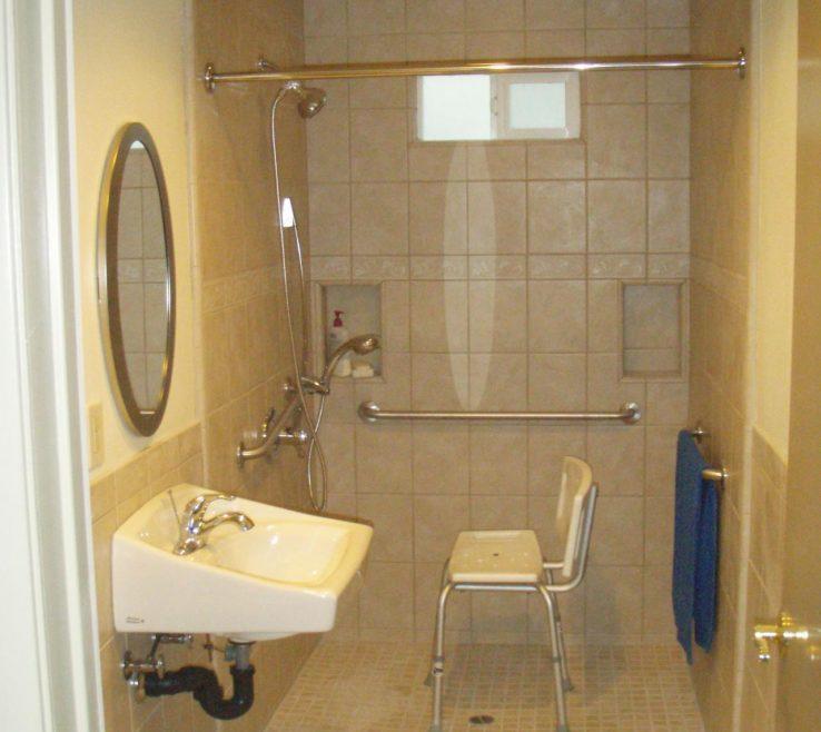 Unique Bathrooms For Disabled Persons Of Handicap Bathroom Design Handicap Specifications