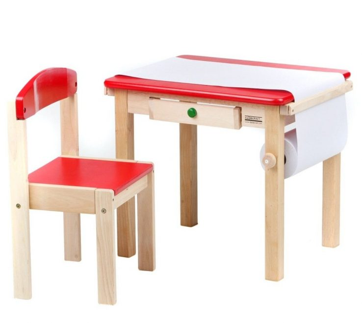 Unique Child Size Desk Of Folding Table And Chairs Set