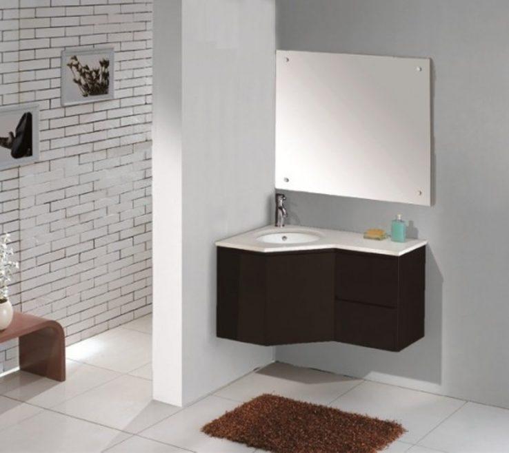 Unique Corner Sink Vanity Of Bathroom