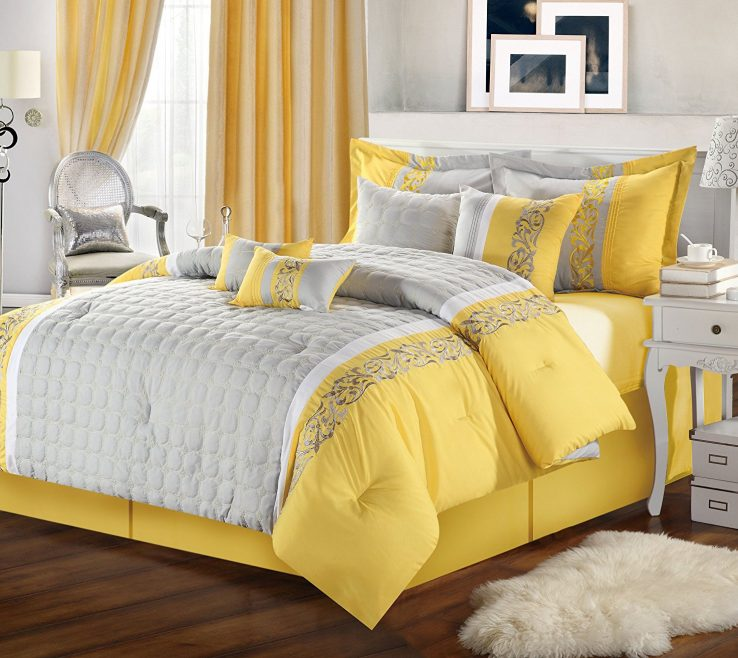 Unique Decorating With Yellow And Red Of Full Size Of Room Grey Decor Brown