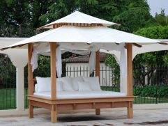 Diy Outdoor Daybed With Canopy