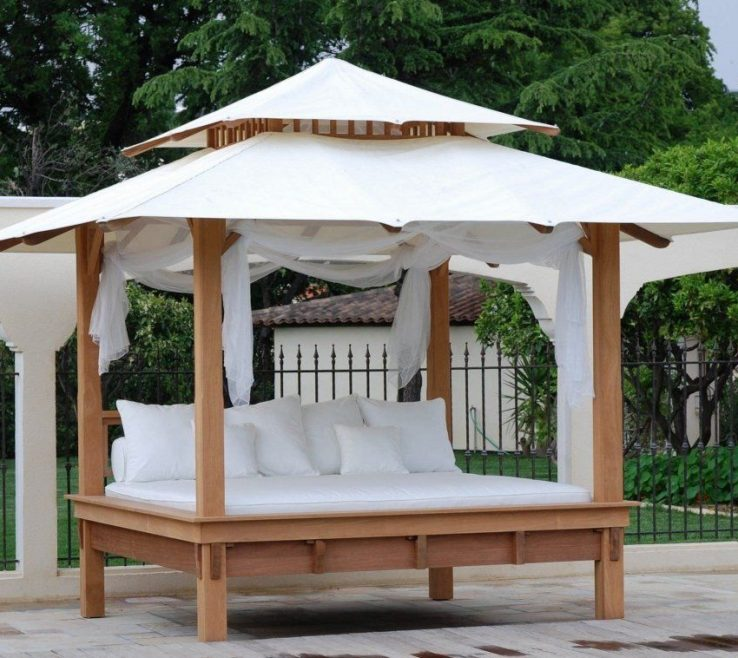 Unique Diy Outdoor Daybed With Canopy Of Photos