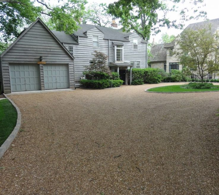 Unique Driveway Entrance Ideas Of Gravel Landscaping Natures Perspective Landscaping