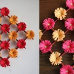 Unique Flower Wall Decorations Of Paper Hanging Diy Hanging Decoration