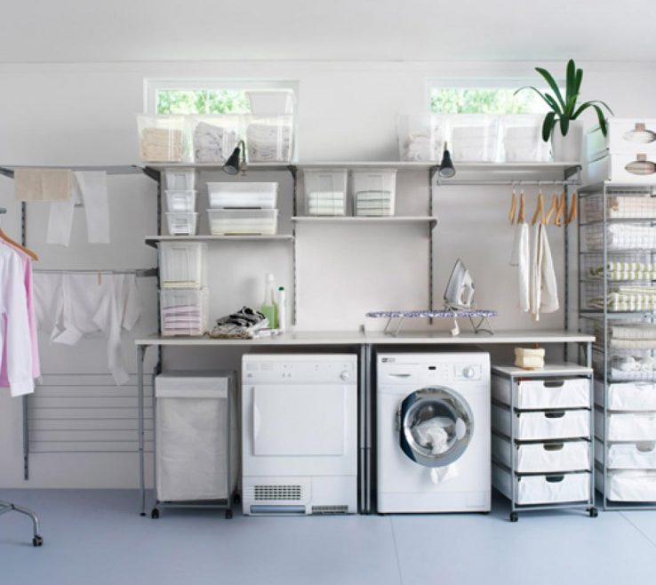 Unique Laundry Room Organizing Ideas Of Original Laundry Rolling Shelves Organization S4x3.