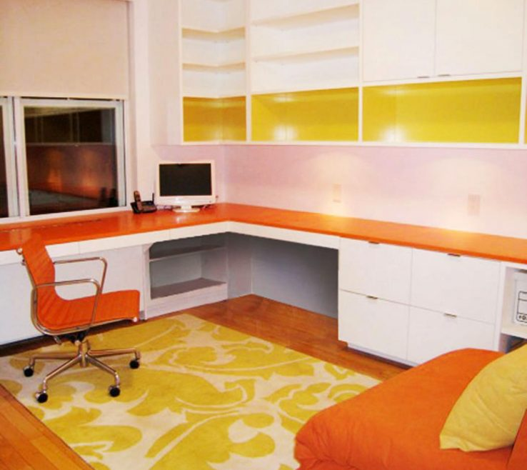 Unique Orange Interior Design Of 10 Tips For Designing Your Home Office