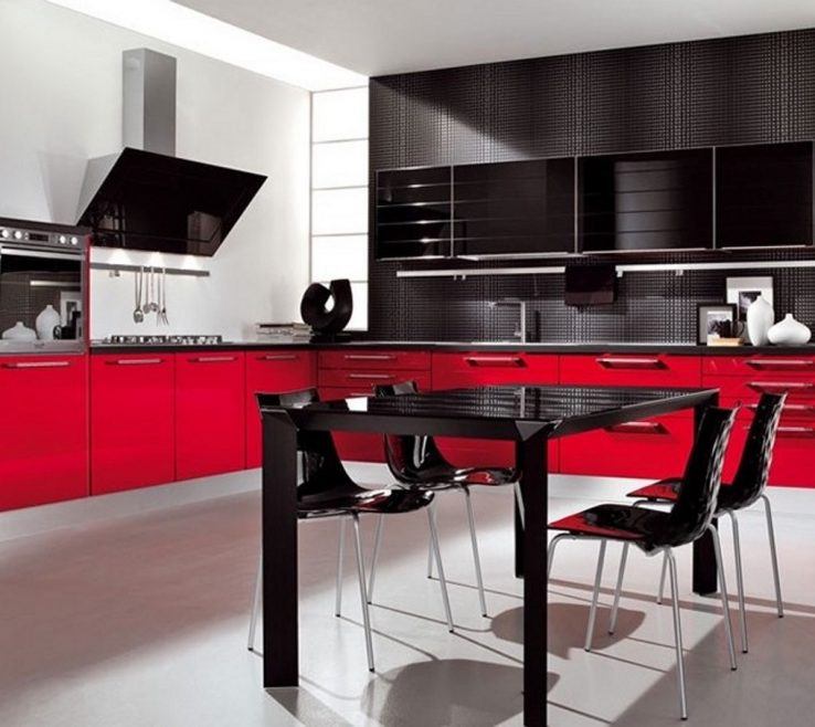 Unique Red White And Black Kitchen Tiles Of Wall Ideas Blue Color Ideas Grey