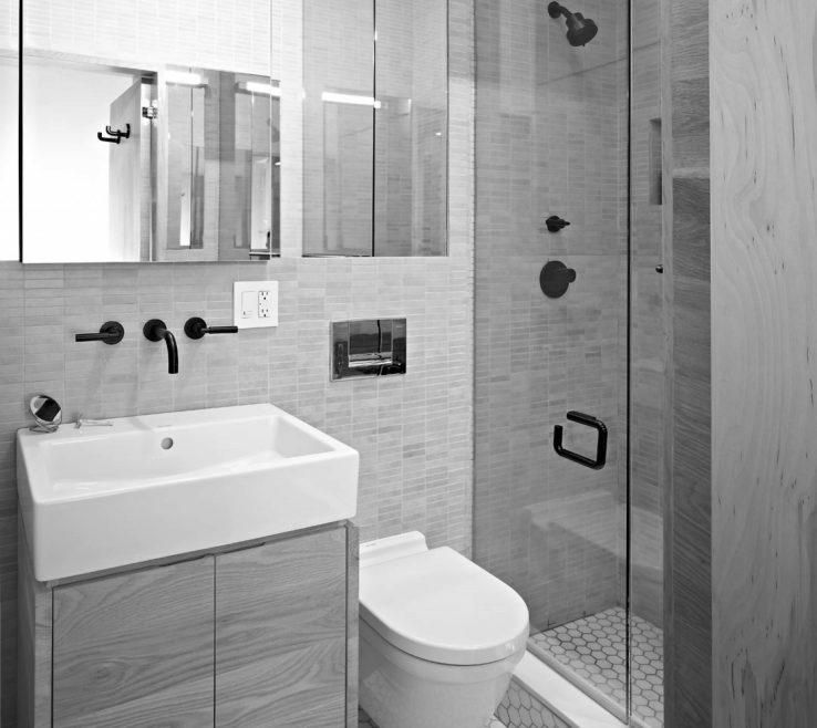 Unique Small Modern Bathroom Ideas Of Full Size Of Bed & Bath, Ensuite
