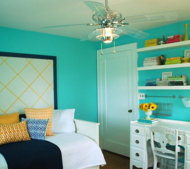 Unique Turquoise Blue Bedroom Designs Of Great Colors To Paint A