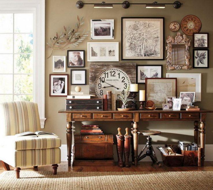 Unique Vintage Wall Decor Ideas Of Ideaspictures In Galleryvintage Decora