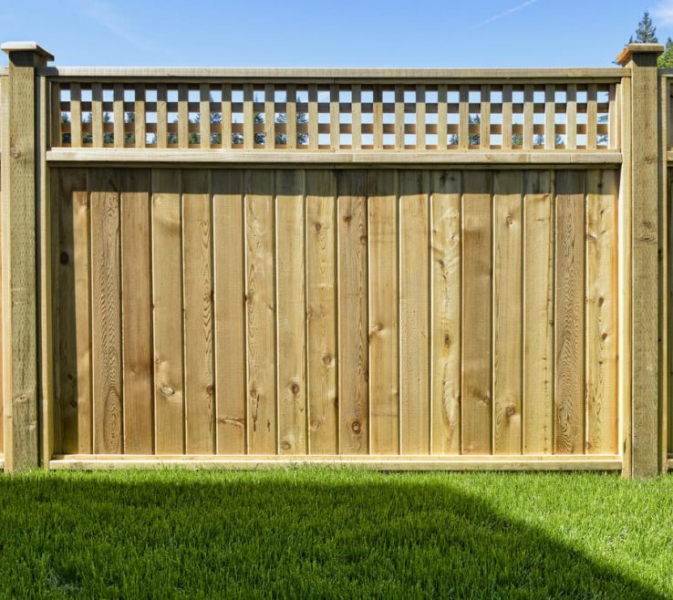 Unique Wood Fence Designs Of Stylish Privacy