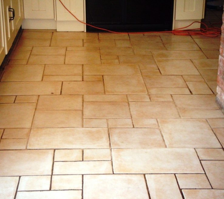 Vanity Ceramic Tile Flooring Pictures Of And Grout Before Restoration