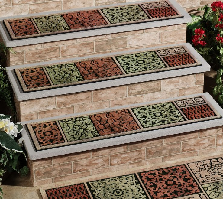 Vanity Cheap Stair Tread Ideas Of Photo Carpet Treads