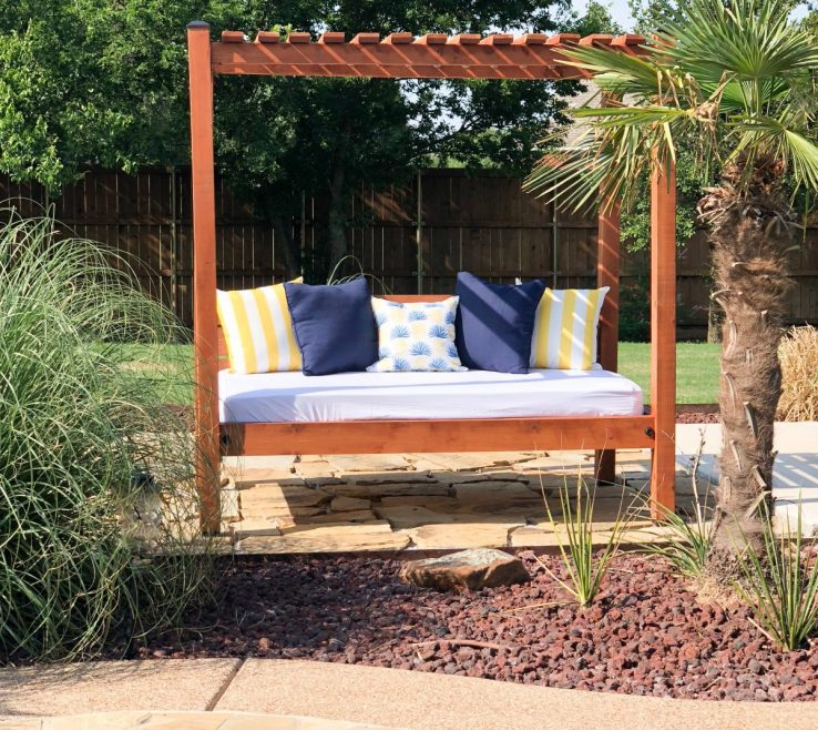 Vanity Diy Outdoor Daybed With Canopy