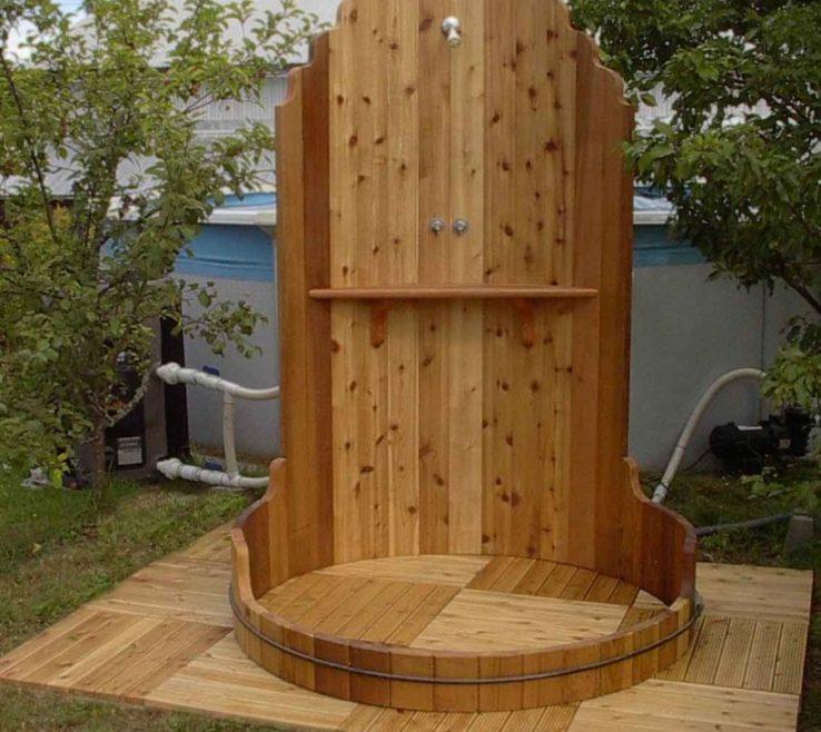 Vanity Outdoor Shower Floor Ideas Of Exterior Lovely For Rejuvenating Time