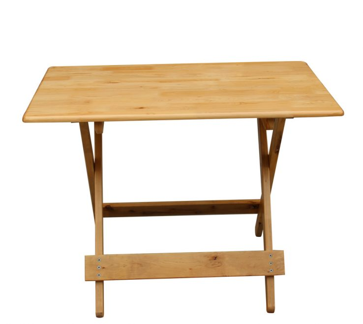 Vanity Space Saving Folding Table Of Good Wood