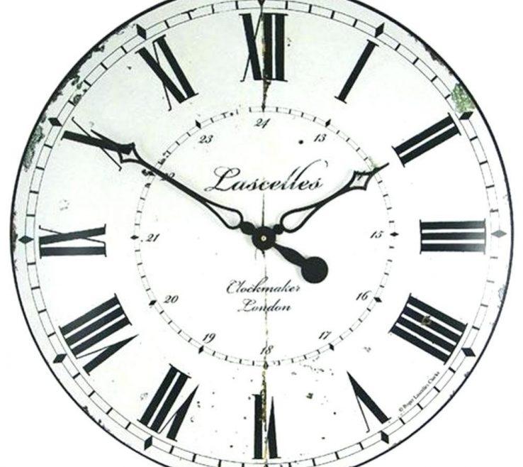 Vanity Wall Clocks For Kitchens