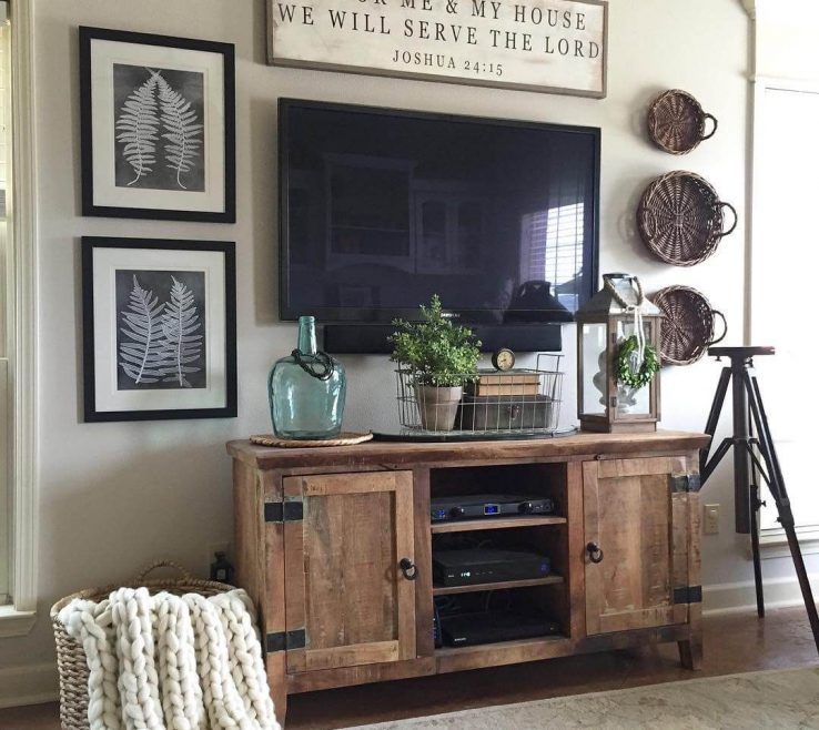 Vintage Wall Decor Ideas Of Amazing For Living Room 35 Rustic E