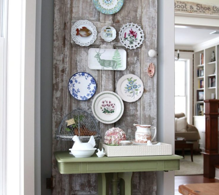 Vintage Wall Decor Ideas Of Decorating Door Plate Finding Home Farms