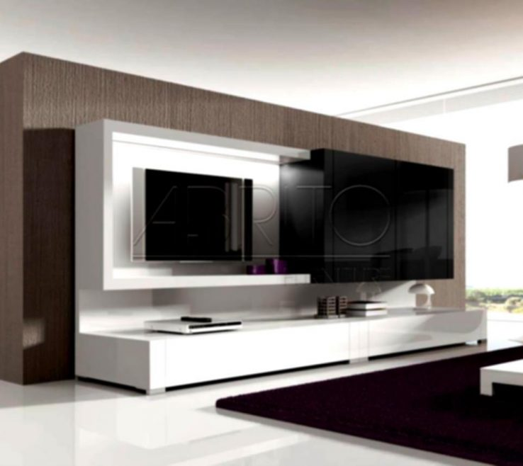 Wall Units Designs For Living Room Of Home : Designer Contemporary In Modern Tv