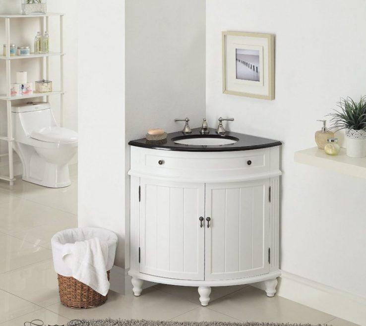 Wonderful Corner Sink Vanity Of 24 Thomasville Bathroom Model Cf 47533gt