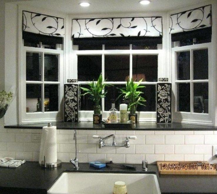 Wonderful Decorating Bay Windows Of Kitchen Window Ideas Window Ideas Kitchen Window