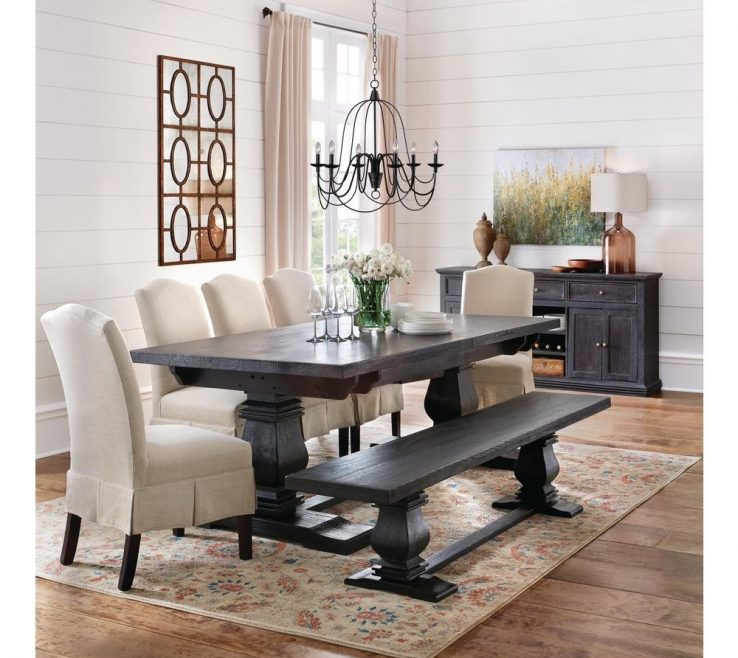 Wonderful Dining Room Buffet Decorating Ideas Of Best Of Distressed Black And Enhancing