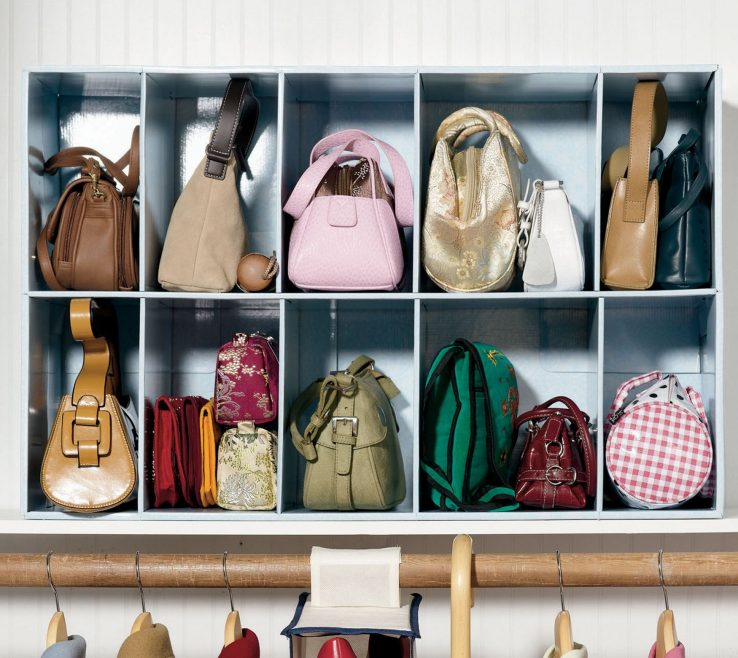 Wonderful How To Organize Pocketbooks Of No More Dented, Dusty Handbags. Store Them