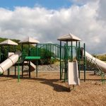 Wonderful Ideas For Playgrounds Of Locating Your Playground Under A Canopy