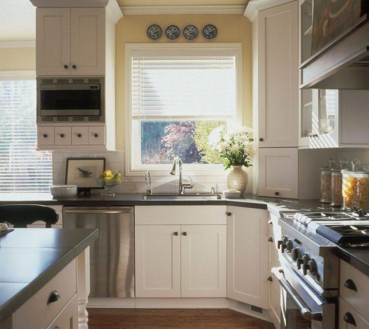 Wonderful Retro Decorating Ideas Of Kitchen Idea With Vintage White