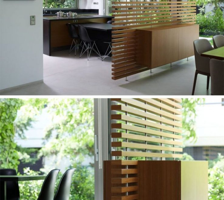Wonderful Room Dividers Of Creative Ideas For This Slatted