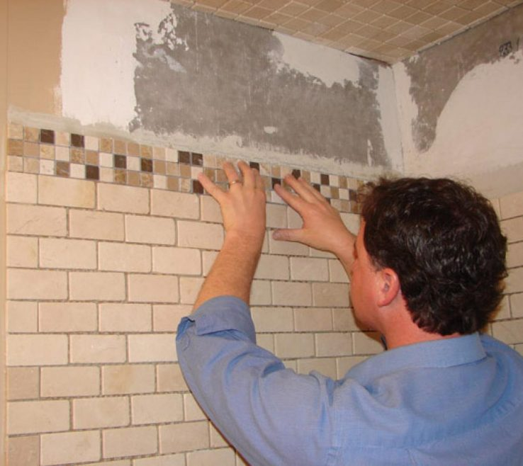 Wonderful Shower Surround Tile Ideas Of Step 7