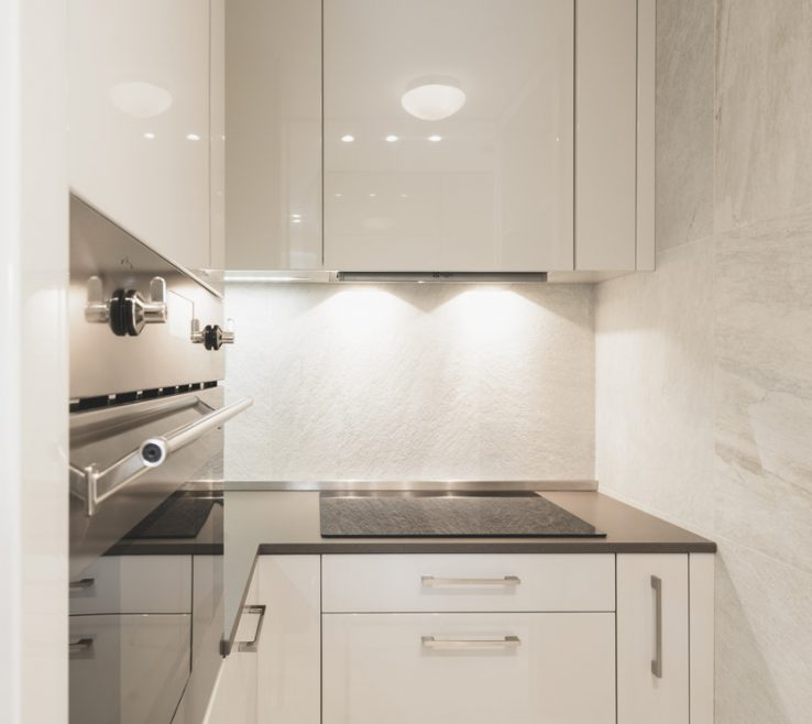 Wonderful Small White Kitchens Of Tiny, Tiny, Tiny Modern Kitchen