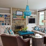 Wonderful Turquoise Living Room Ideas Of Fresh On Home