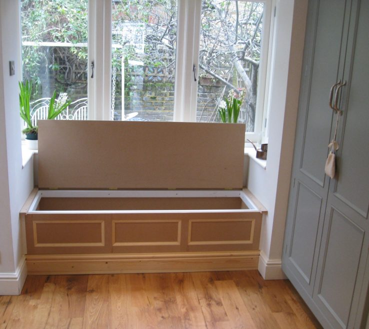 Wonderful Under Window Seat Storage Of A Bay Window Which Could Include