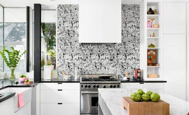 Kitchen Interior Equipment And Decorations
